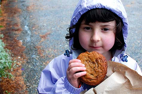 Child with Cookie