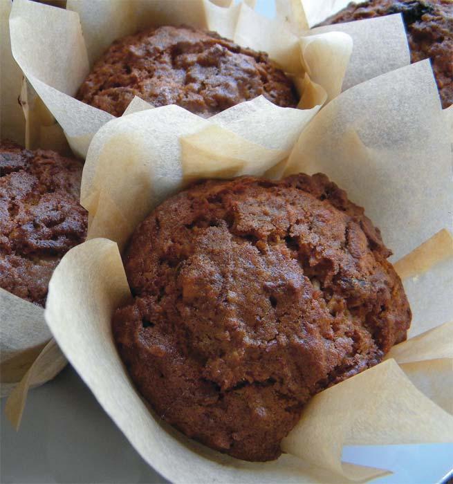 Wheat-Free Morning Glory Muffin